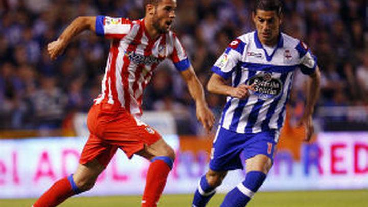 0-0. El Atlético ni juego ni ocasiones ante el Depor