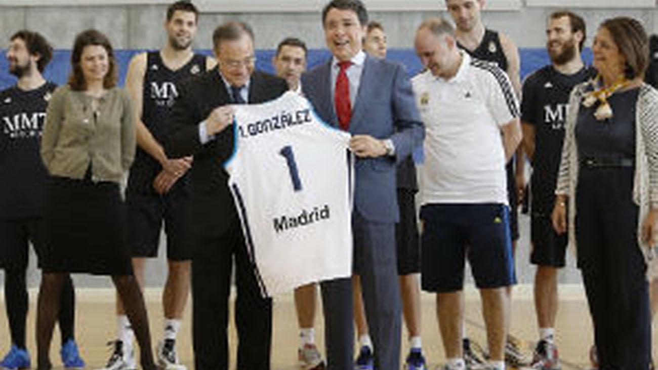 González anima al Real Madrid de cara a la 'Final Four'