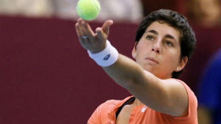Sharapova elimina a Carla Suárez en Pekín