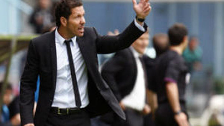 "Simeone: ""Cumplimos el objetivo de certificar la tercera plaza"""