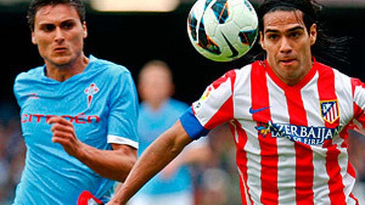 1-3. El Atlético se mete en Champions y hunde al Celta