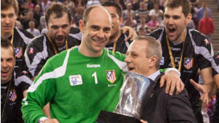 El Atlético de balonmano será recibido en Cibeles tras ganar la Copa
