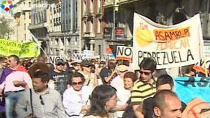 Piden 74 años de cárcel para los detenidos en la manifestación que originó el 15M