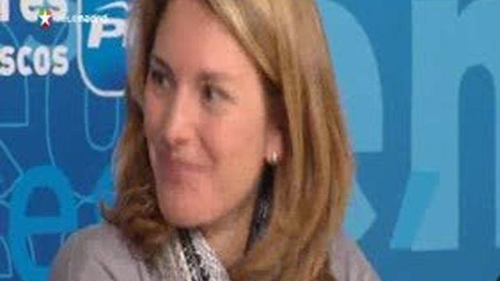 Arantxa Quiroga asume la presidencia del PP vasco