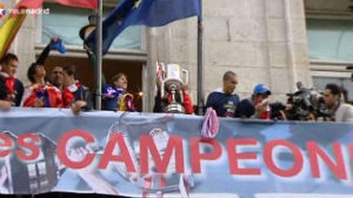 """Cerezo: """"Hoy Madrid y España son rojiblancas"""""""