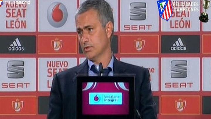 """Mourinho: """"He fracasado esta temporada"""""""