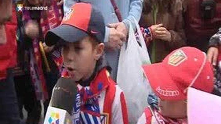 40.000 Atléticos vibran con la fiesta del campeón de Copa