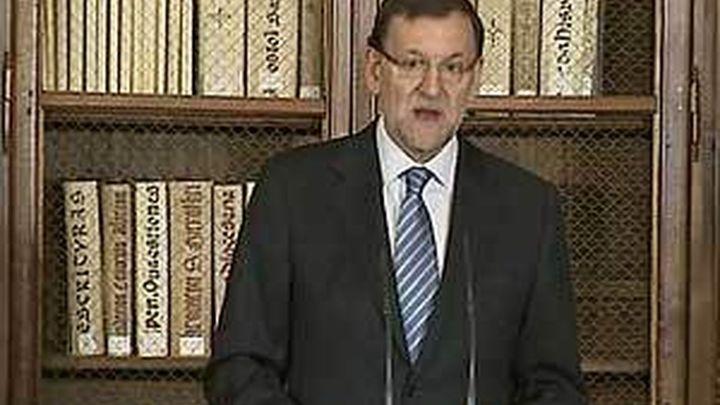 """Rajoy defiende un sistema educativo que asiente """"una biografía común"""""""