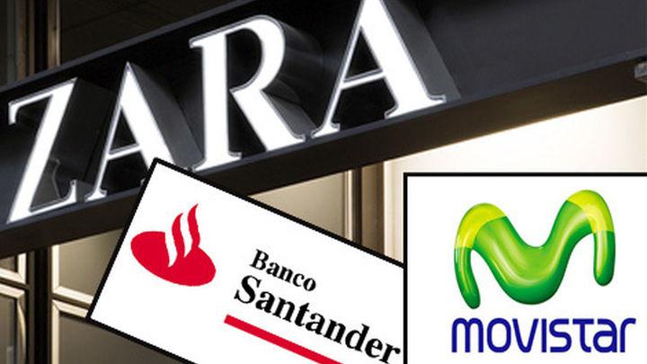 Zara, Movistar y Santander, entre las 100 marcas más valiosas del mundo