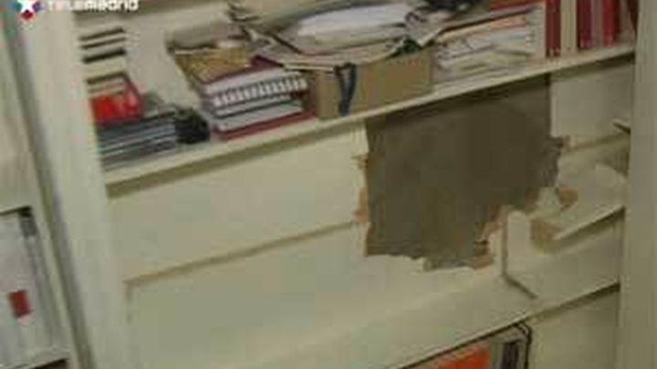 Roban con un butrón la caja fuerte de la librería Alberti de Moncloa