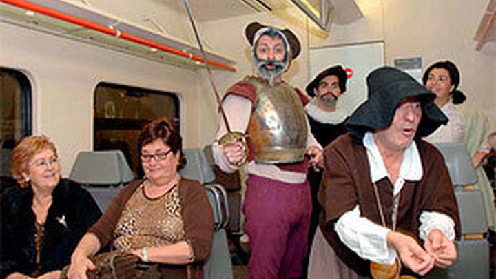 El Tren de Cervantes regresa con teatro y visitas turísticas guiadas