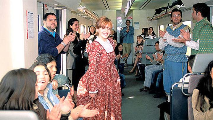 Chú, chú... ¡viajeros al tren!