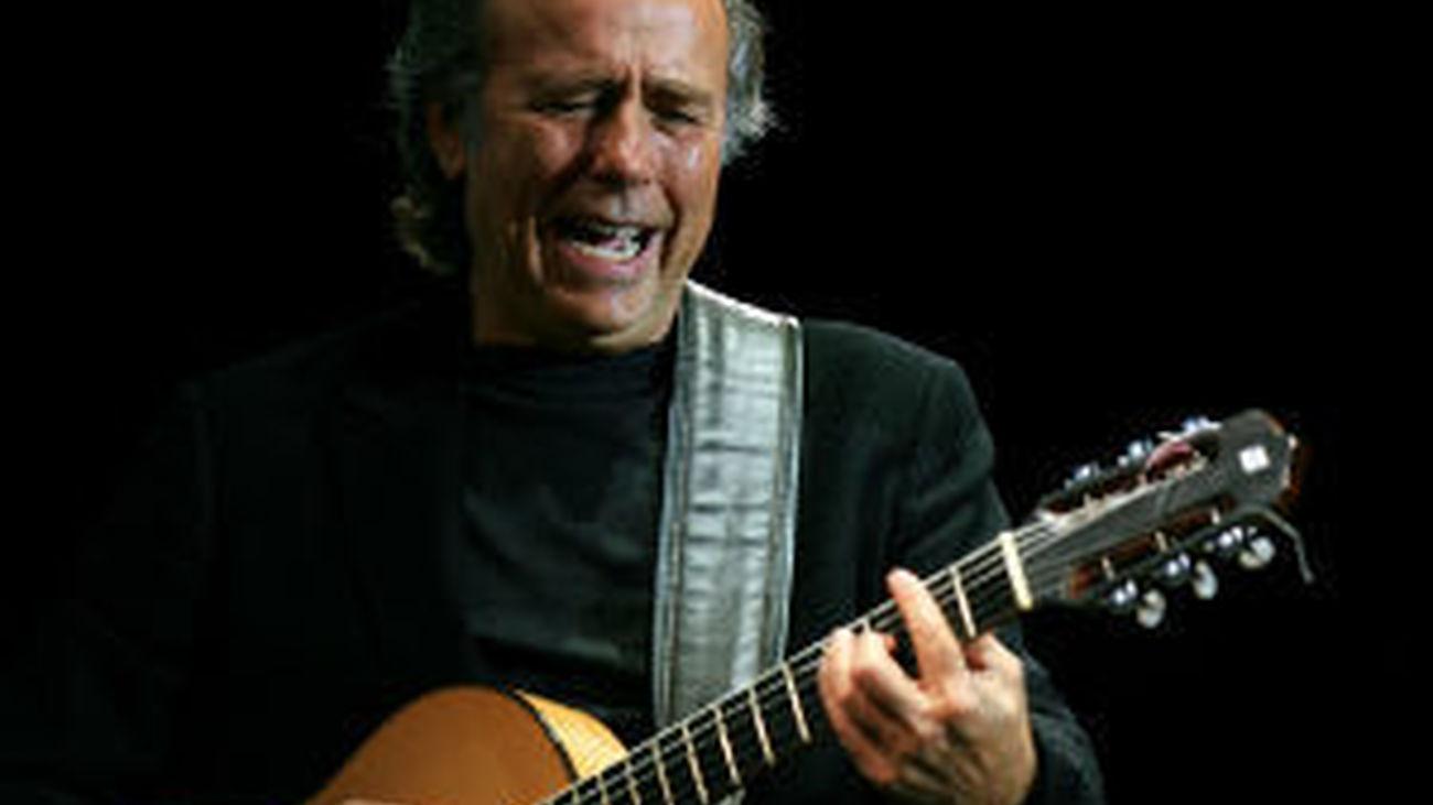 Joan Manuel Serrat, en concierto