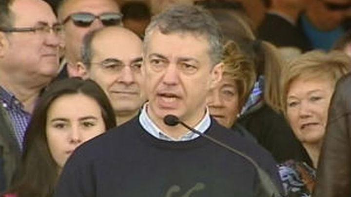 """Urkullu dice que ha habido """"cinco Lomces"""" pero lo que fuunciona es el pacto"""" educativo vasco"""""""