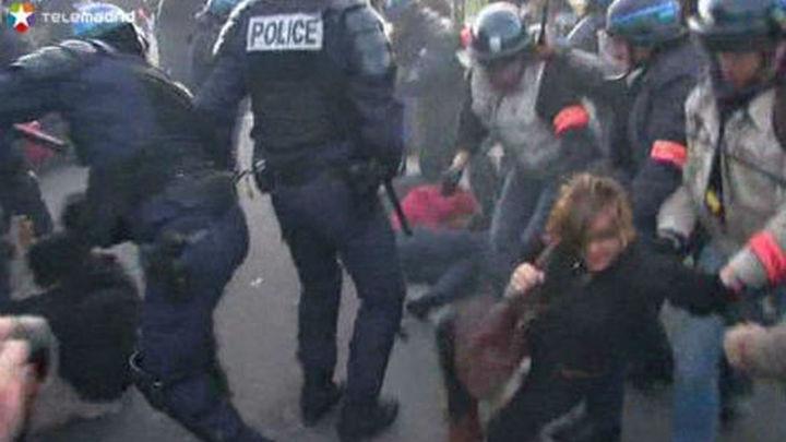 Más de 350 detenidos en París durante las protestas contra las bodas gais