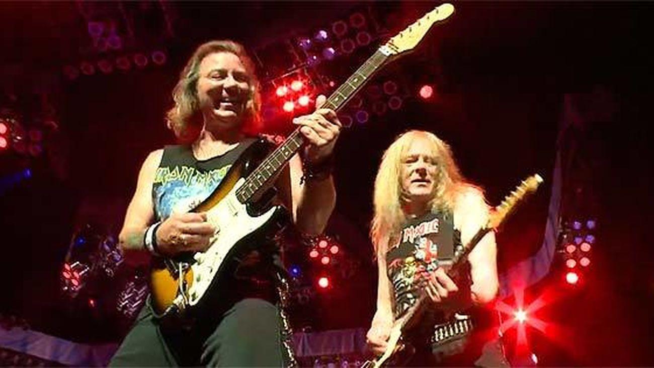 Iron Maiden, en concierto