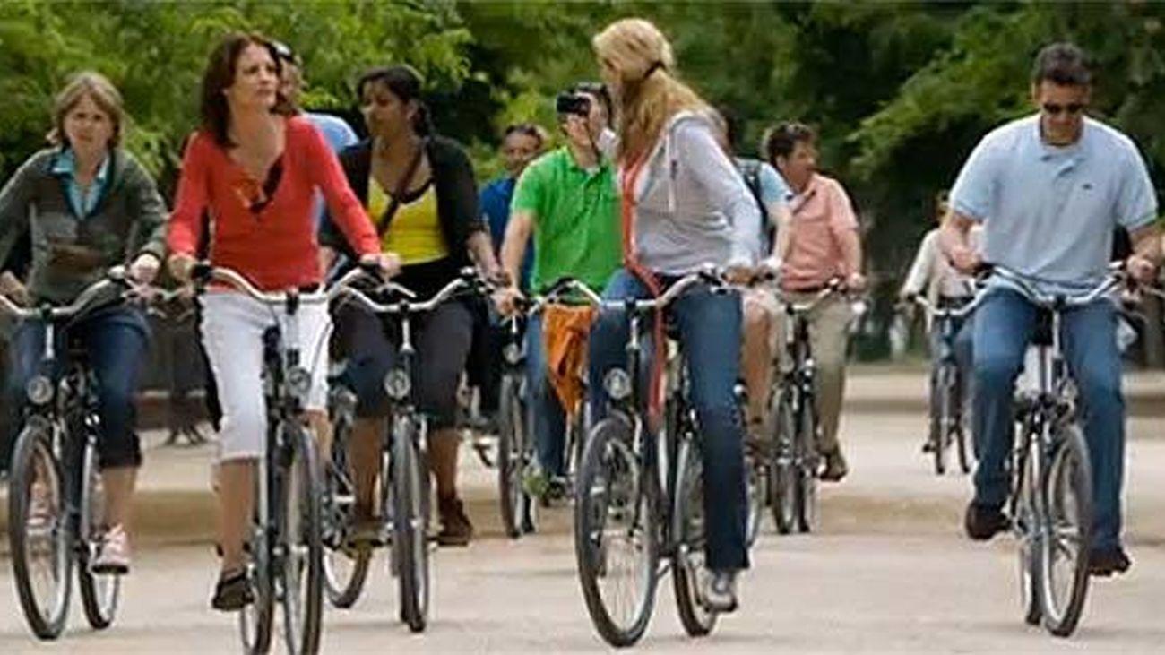 Rutas en bici por Madrid