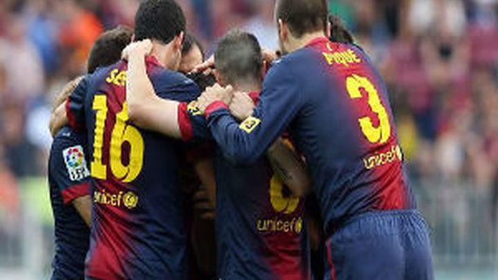 4-1. El Barça se pone a cien en quince minutos