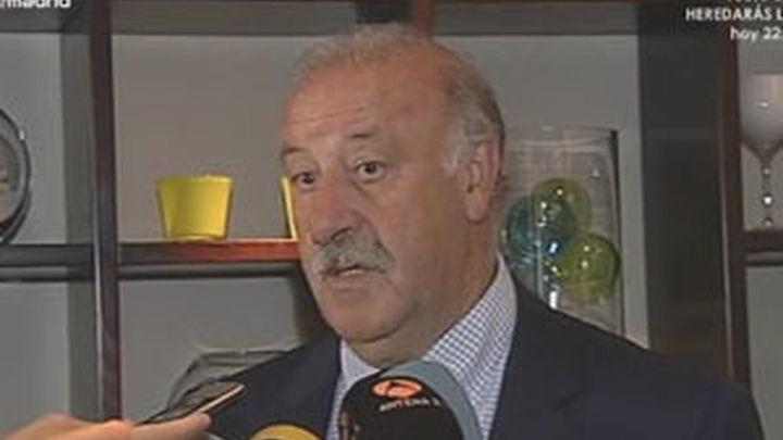 """Del Bosque: """"La selección está motivada para ganar la Confederaciones"""""""