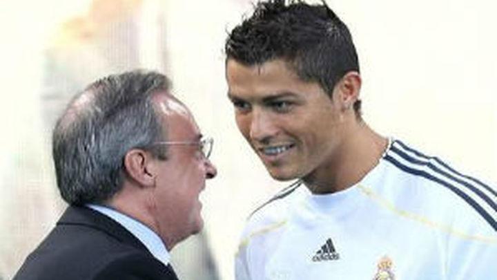"""Florentino: """"Cristiano terminará su carrera en el Madrid"""""""