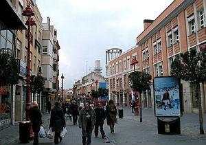 Calle Madrid de Getafe