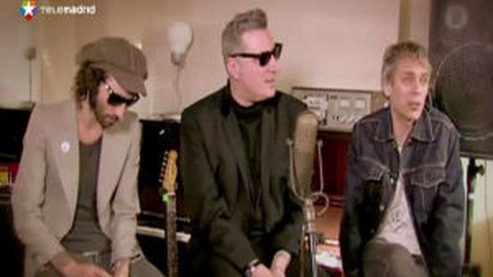 Loquillo, Ariel Rot y Antonio Leiva arrancan su gira en Vistalegre