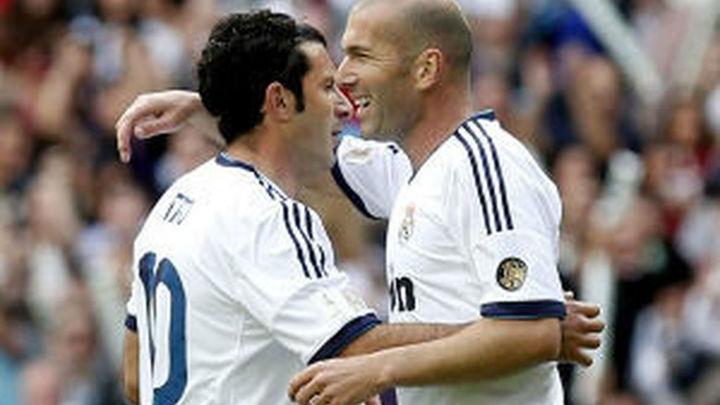 Figo y Roberto Carlos apuestan por Zidane como entrenador