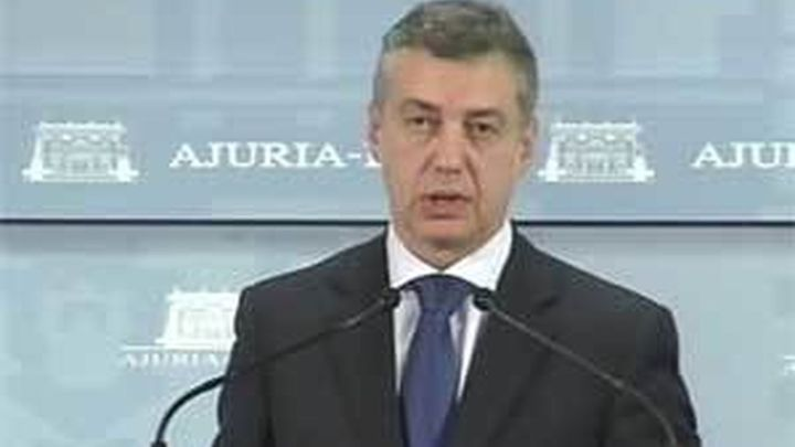 """Urkullu pide a los partidos """"sentido de Estado"""" para asentar la convivencia"""