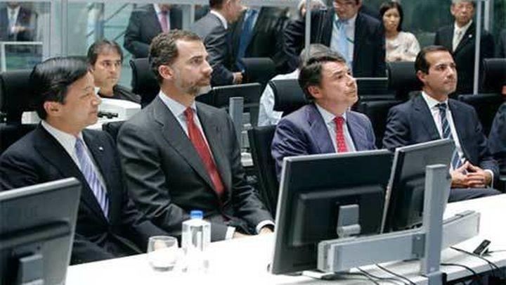 González muestra al Príncipe Naruhito y a Don Felipe la gestión del agua de Madrid