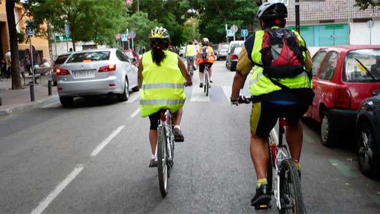 El ayuntamiento de Madrid imparte cursos de ciclismo urbano