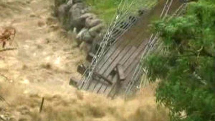 312 vecinos evacuados en la Valle de Aran por la crecida de los ríos