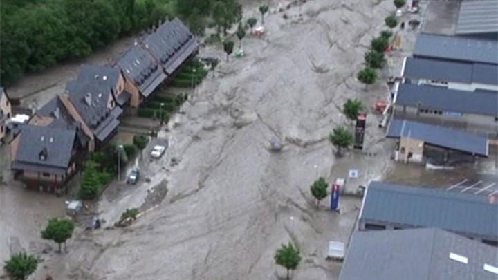 Cuatro municipios del Valle de Arán se quedan sin agua potable