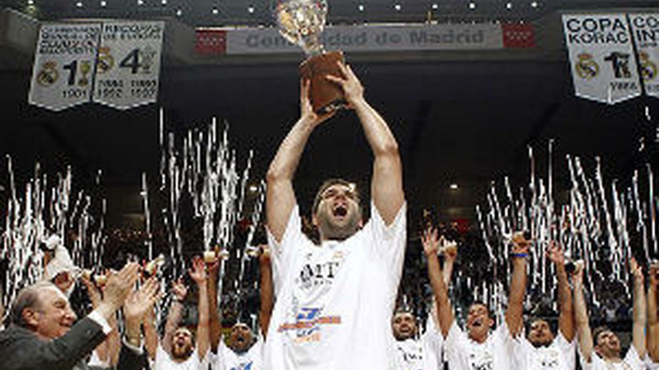 Real Madrid, campeón de la ACB