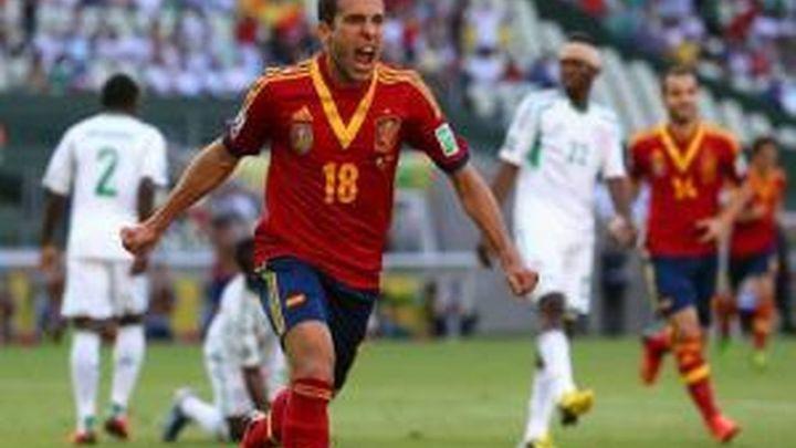 3-0. España golea a Nigeria y se cita con Italia