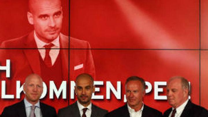"""Guardiola, presentado en el Bayern: """"Necesitaba un nuevo desafío"""""""