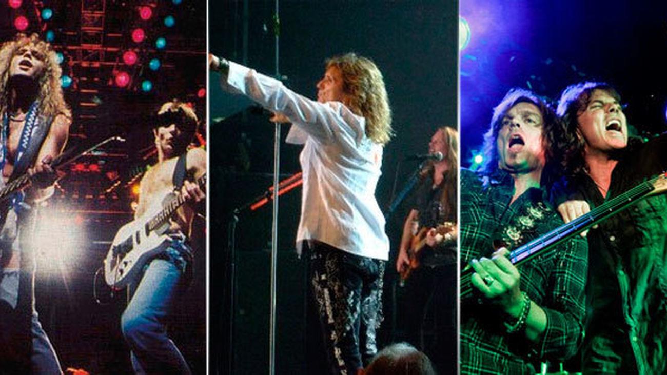 Def Leppard, Whitesnake y Europe