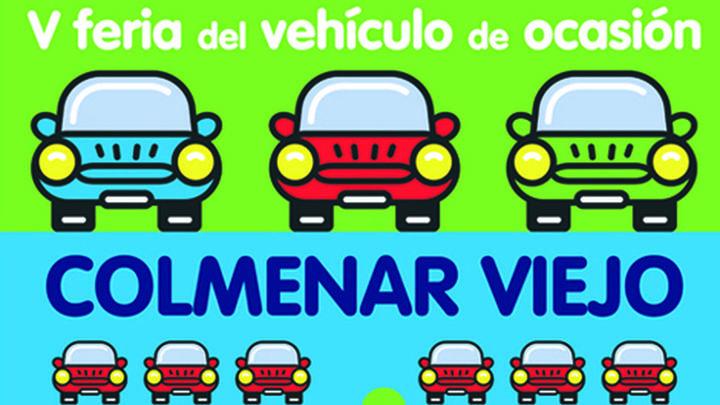 Colmenar celebrará el próximo fin de semana la V Feria del Vehículo de Ocasión