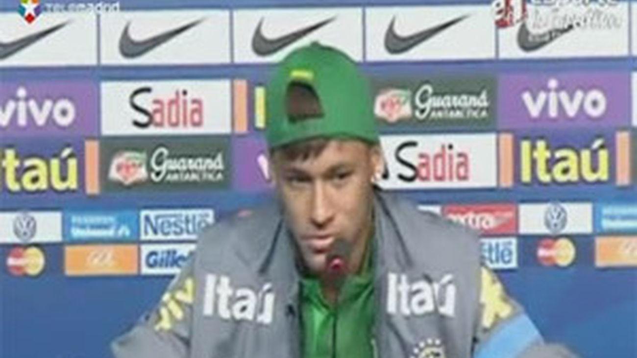 """Neymar: """"España es el favorito, son los mejores del mundo"""""""