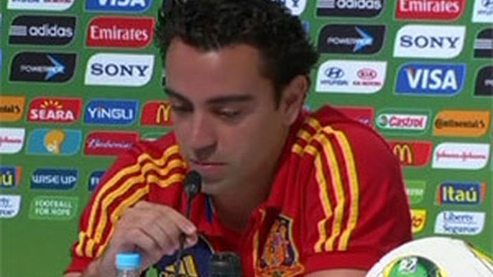 "Xavi: ""Si pudieras elegir un partido, sería ante Brasil en Maracaná"""