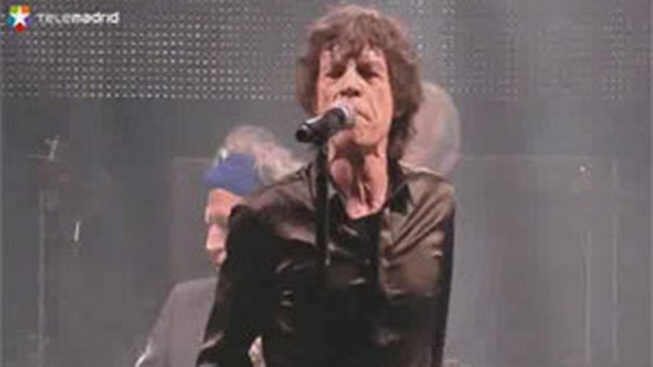 Los Rollings Stones, aclamados en su debut en Glastonbury