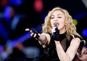 Madonna, en concierto
