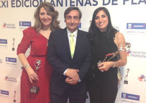 Isabel García Regadera y Nieves Ortiz, Antena de Plata 2013