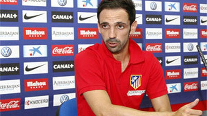"""Juanfran: """"Ojalá estemos en la última jornada peleando por la Liga"""""""