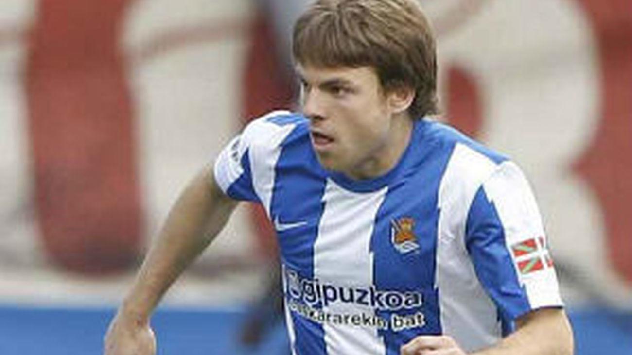 Illarramendi, jugador de la Real Sociedad