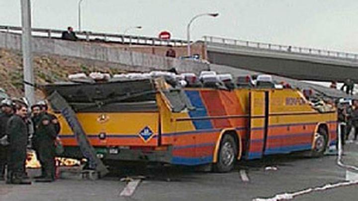El accidente de autobús de Ávila, el peor de los últimos 5 años