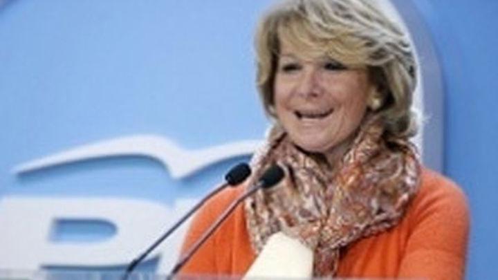 """Aguirre cree que organizar unos JJOO no ayuda a vencer el """"desafío"""" del paro"""