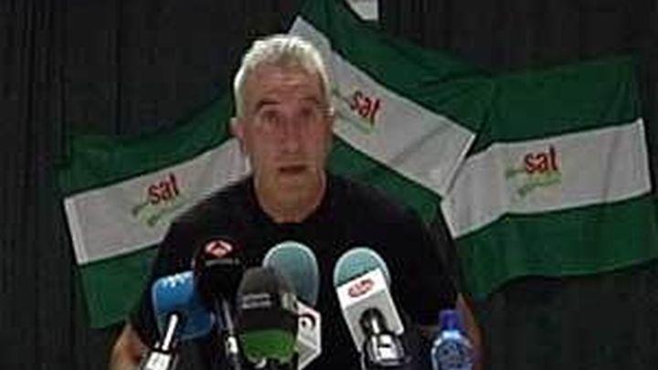 Detienen al portavoz del SAT, Cañamero por la ocupación de una finca militar en Sevilla