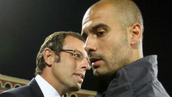 Rosell responde a Guardiola