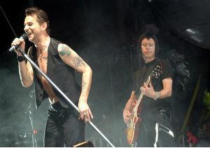 Depeche Mode, en concierto