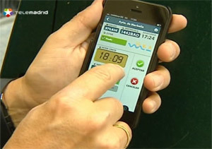 Una aplicación para móviles para pagar el estacionamiento regulado